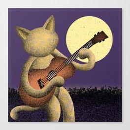 Singin' (Electric Catnip) Canvas Print