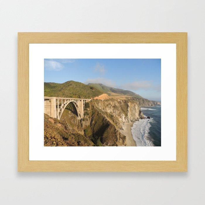 Bixby Creek Bridge Framed Art Print