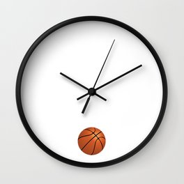 Be the One Everyone Wants to Watch Basketball Wall Clock