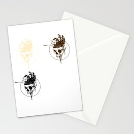 Live By The Chocolate Die By The Chocolate Stationery Cards