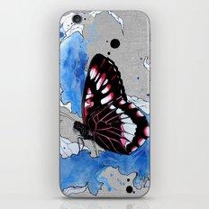 Butterfly III ink by carographic, Carolyn Mielke iPhone & iPod Skin