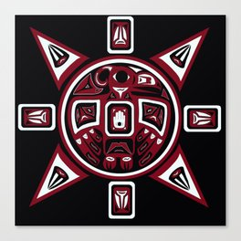 Northwest Indian Thunderbird Sun Canvas Print