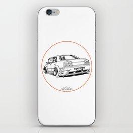 Crazy Car Art 0215 iPhone Skin