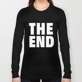 The End White Long Sleeve T-shirt
