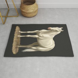 Beautiful White Cremello Horse Rug