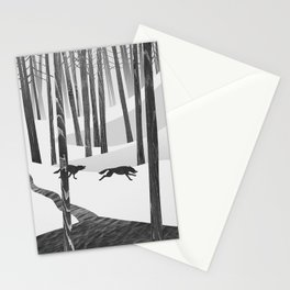 Martwood Wolves Stationery Cards