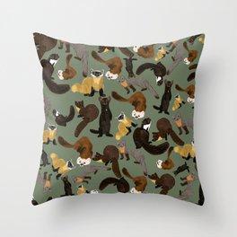 Martens of the World #1 Throw Pillow