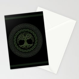 Celtic Tree Of Life Stationery Cards