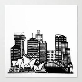 SYD Canvas Print