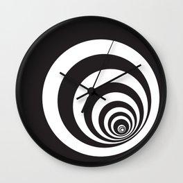 Black&White Spirally Wall Clock