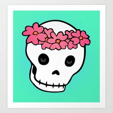 Princess Skull ver.2 Art Print