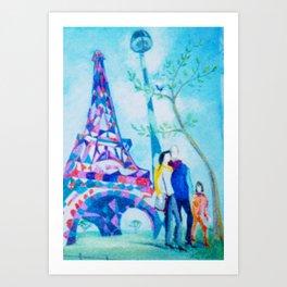 PARIS     by Kay Lipton Art Print