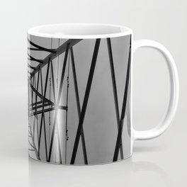 Abstract Image of Electric pylon Coffee Mug