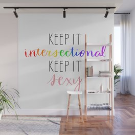 INTERSECTIONAL IS SEXY Wall Mural