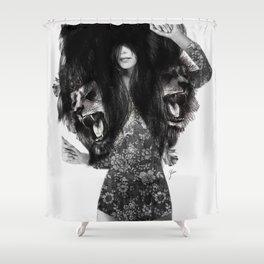 Lion #2 Shower Curtain