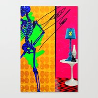 coke Canvas Prints featuring Coke by Alec Goss