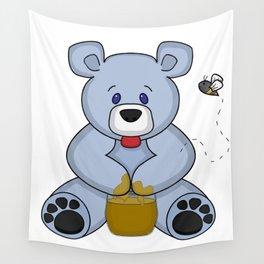 Hunny Bear Wall Tapestry