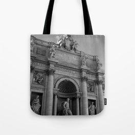 rome italy trevi fountain Tote Bag