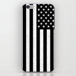 USA flag - HiDef Super Grunge Patina iPhone Skin