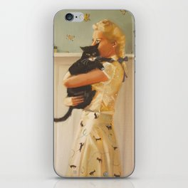 Cat And Mouse iPhone Skin