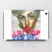artrave iPad Cases featuring Farewell ARTPOP by Abhivision