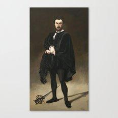 Edouard Manet, The Tragic Actor, 1866 Canvas Print