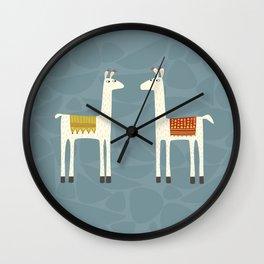 Everyone lloves a llama Wall Clock