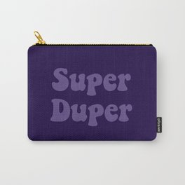 Super Duper - Ultra Violet Carry-All Pouch
