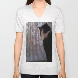 The Birdwatcher Unisex V-Neck
