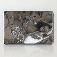 hiphop iPad Cases featuring Holy Mother of HipHop Blessed Be Thy Beats. by Kamau Mshale