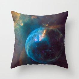 Bubble Nebula (NGC 7635) Throw Pillow