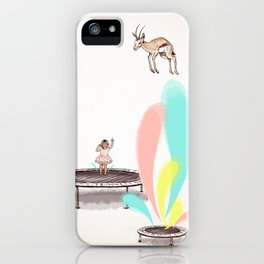 Gazelles Make Bad Friends iPhone Case