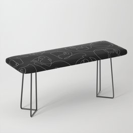 Face Lace Bench