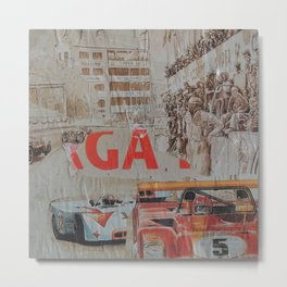 Tribute to Targa Florio Metal Print