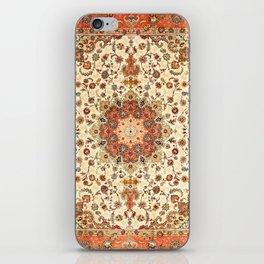 N71 - Orange Antique Heritage Traditional Moroccan Style Mandala Artwork iPhone Skin