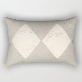 Experts Only Ski Patrol Double Black Diamond Sign Rectangular Pillow