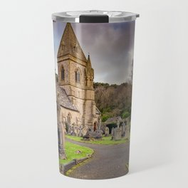 Church at Pantasaph Travel Mug