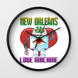 Mardi Gras Parade 2019 Beads Party Shirt Gift Idea Light Wall Clock