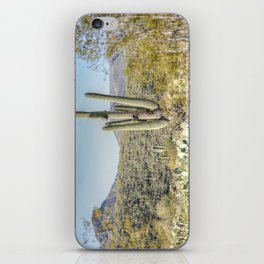 Trees and Cacti  iPhone Skin