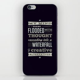 Funny Movie Quote from Blazing Saddles by Harvey Korman iPhone Skin