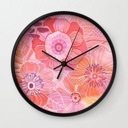 Hooray Pink! Wall Clock