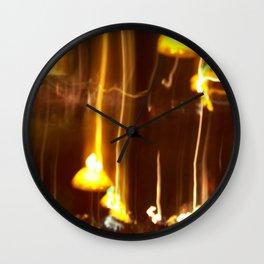 Caps Wall Clock