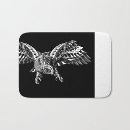 Ornate Falcon Bath Mat