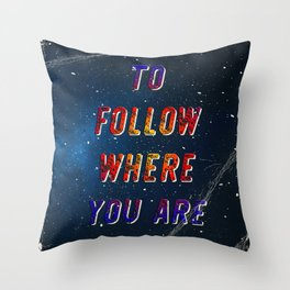 I'm wishing on a Star #2 – A Hell Songbook Edition Throw Pillow