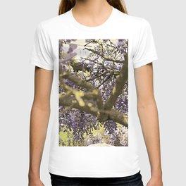 Purple Summer Wisteria T-shirt