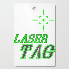 Funny Laser Tag Party T-Shirt Mode On Laser tag Cutting Board