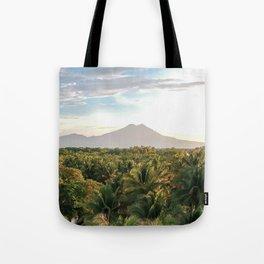 Mighty Volcano Tote Bag