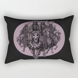 """The four horsemen of the apocalipse"" Rectangular Pillow"