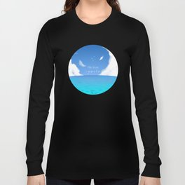 The Blue I yearn for Long Sleeve T-shirt