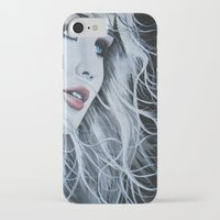 jennifer lawrence iPhone & iPod Cases featuring Jennifer Lawrence  by BrandonScott